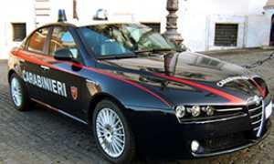 280 auto carabinieri cc w