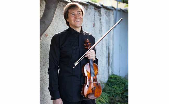 GUIDO RIMONDA violino nero crediti Ivano Buat