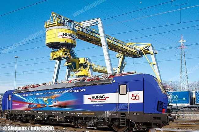 Siemens Hupac Vectron
