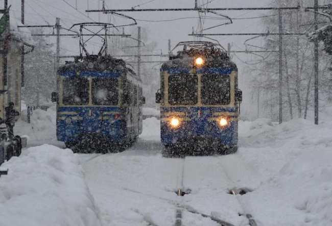 Viaggi invernali con i treni panoramici della Ferrovia Vigezzina Centovalli 2