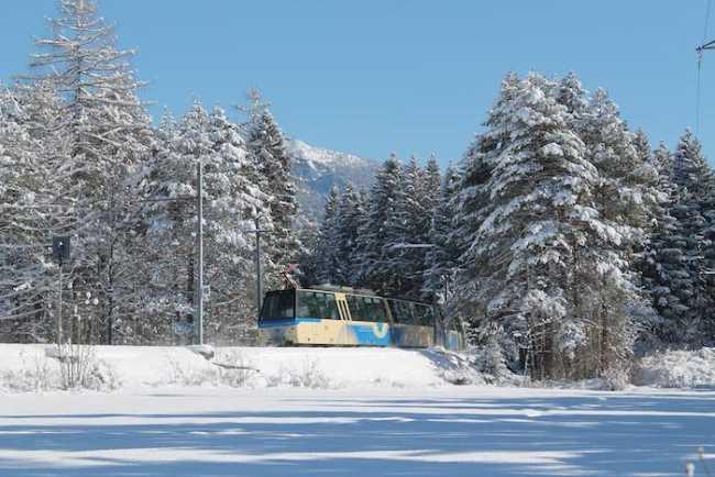 Viaggi invernali con i treni panoramici della Ferrovia Vigezzina Centovalli