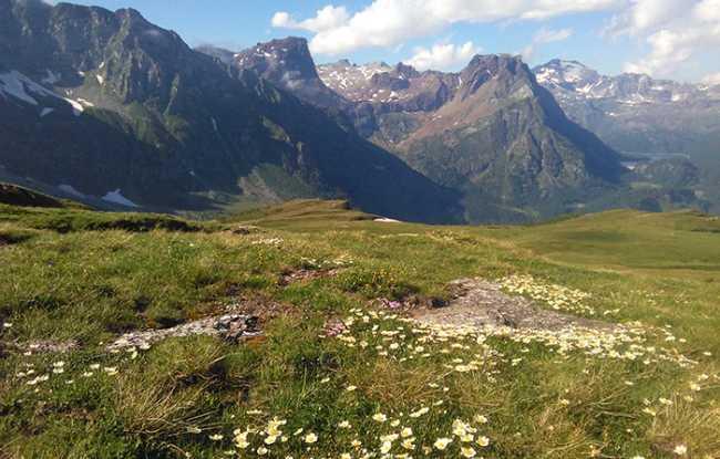 Vista montagna Dal Monte Cazzola