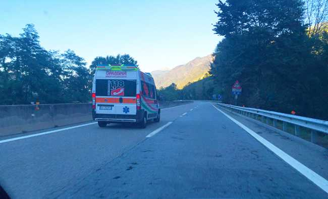 ambulanza superstrada