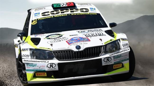 auto rally depliand ufficiale valli 19