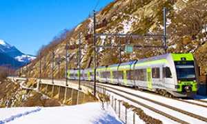 b BLS treno Loetschberger