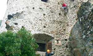 b boulder scalata castello vogogna