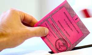 b elezioni urna sheda