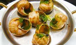 b lumache piatto