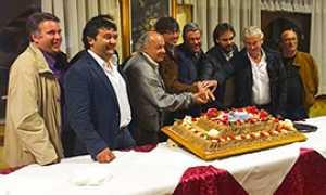 b valli presentazione rally 16 torta