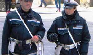 b vigili polizia municipale