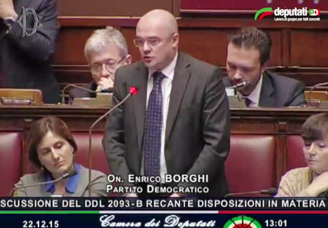 borghi aula discussione