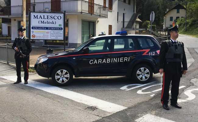 carabinieri malesco