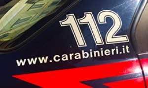 corta 112 carabinieri scritta