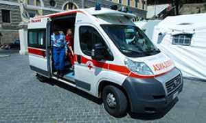 corta ambulanza trasporto