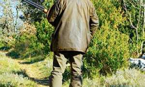 corta cacciatore fucile
