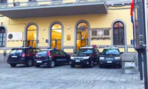 corta carabinieri stazione