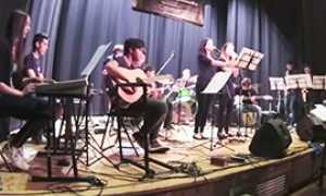 corta confetture musicali orchestra