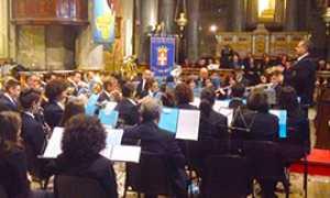 corta coro banda collegiata