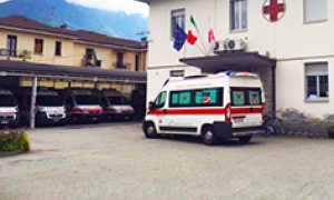 corta croce rossa ambulanza domo