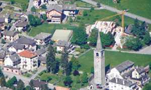corta crodo chiesa parrocchiale
