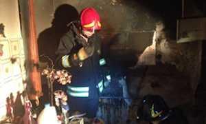 corta incendio vigile cantina