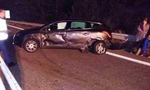 corta incidente superstrada