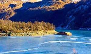 corta lago devero ghiaccio
