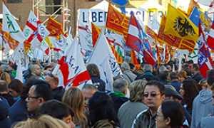 corta lega bandiere bologna