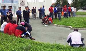 corta profughi protesta 2015 2