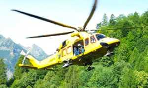 corta soccorso elicottero bognanco atterraggio