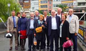 corta thun delegazione italiana borghi