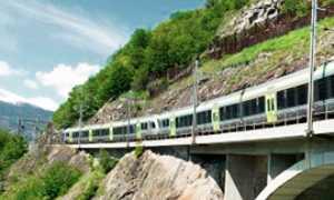 corta trenino bls verde ponte