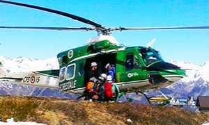 corto elicottero forstale soccorso