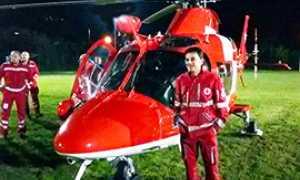 corto elicottero svizzero rega