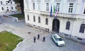 drone polizia locale comune auto