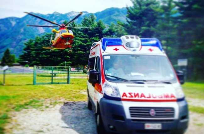 elicottero ambulanza