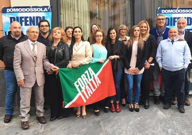 forza italia presentazione lista