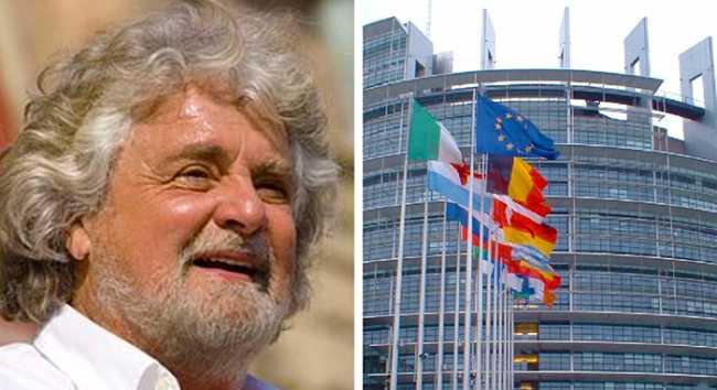 grillo parlamento europeo