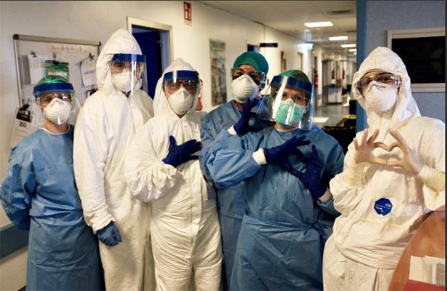 infermieri protezione sanitari covid