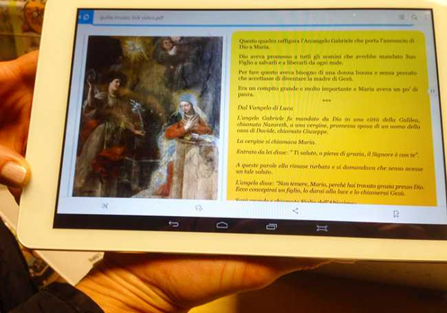 musei tablet natale 2017