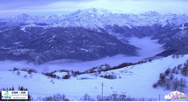 nebbia fondovalle neve