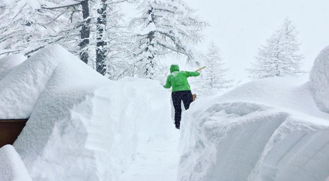 neve fresca rifugio zamboni 18