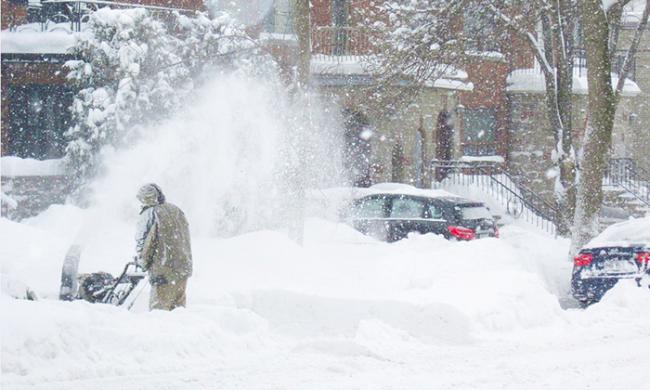 neve strada spala