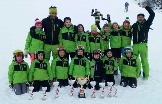 ossola ski team cuccioli devero gen 18