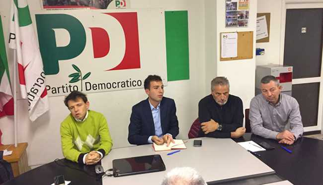 partito democartico pd segreteria ricci bolognini sede