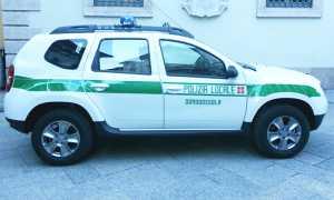 polizia municipale vigili auto