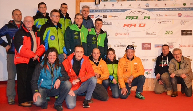 presentazione 2018 rosa ski race