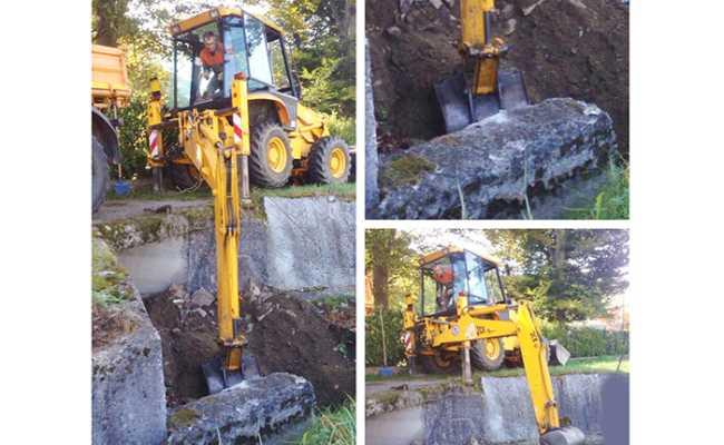 pulizia canale scavatore mix