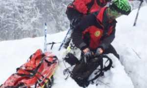 recupero soccorso neve