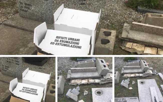 rifiuti cimitero domo